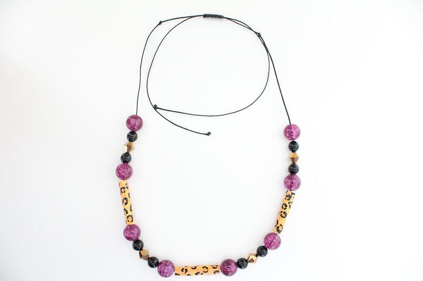 Jaguar Print Necklace V