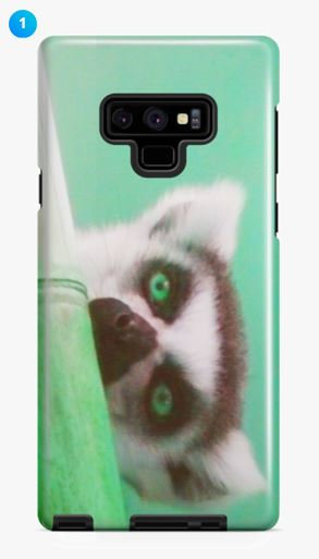 Ring-tailed Lemur I Samsung Phone Case (8 Colors)