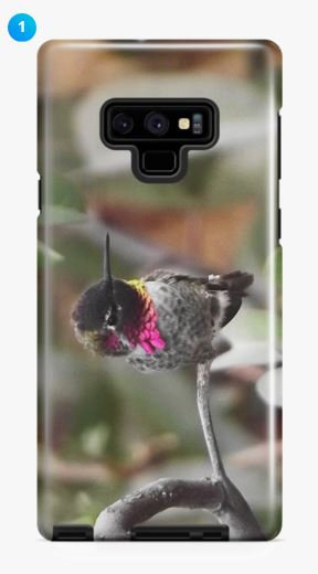 Anna's Hummingbird Samsung Phone Case (Original + 7 Colors)
