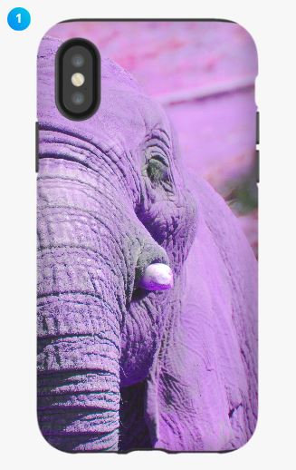 African Elephant I Apple Phone Case (6 Colors)