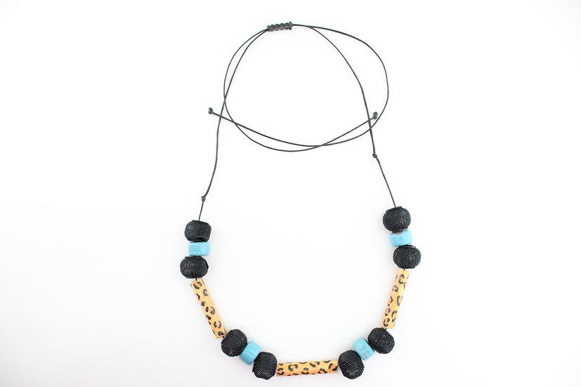 Jaguar Print Necklace I