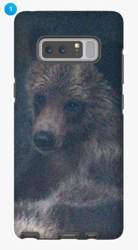 Grizzly Bear I Samsung Phone Case (Original)