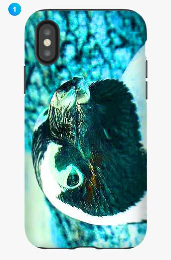 African Penguin Apple Phone Case (Color)