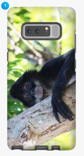 Mexican Spider Monkey Samsung Phone Case (Original)
