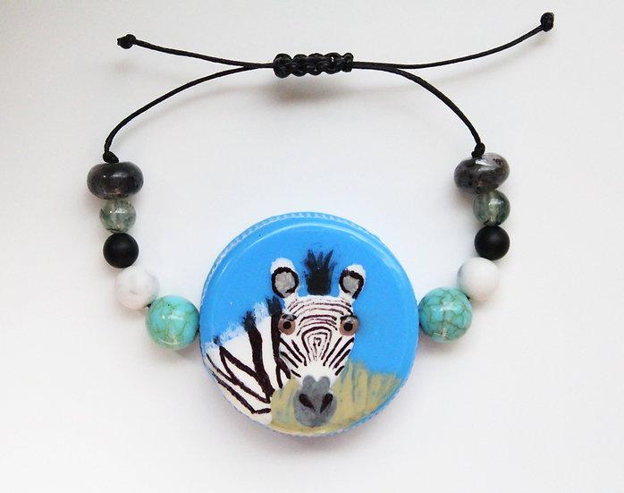 Grevy's Zebra Bracelet I