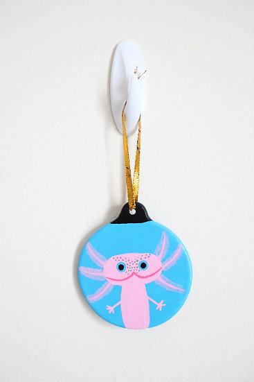 Axolotl Ornament (Porcelain)
