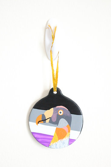 King Vulture Ornament (Porcelain)