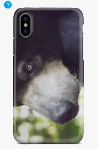 Sun Bear II Apple Phone Case (Original)