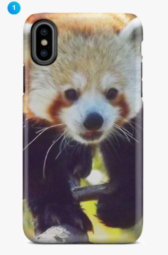 Red Panda Apple Phone Case (Original)
