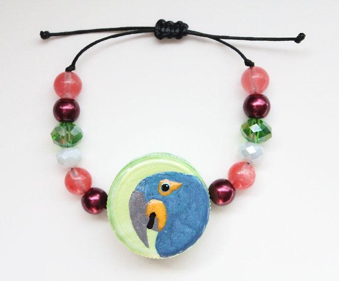 Hyacinth Macaw Bracelet I