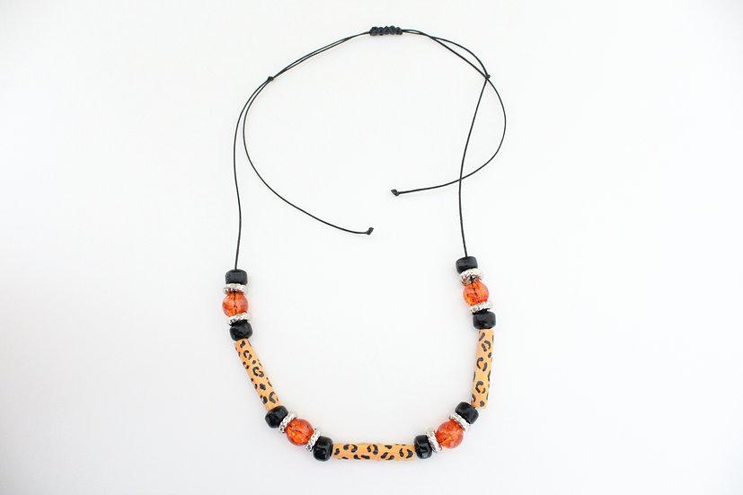 Jaguar Print Necklace II