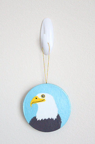 Bald Eagle Ornament (Paper Mache)