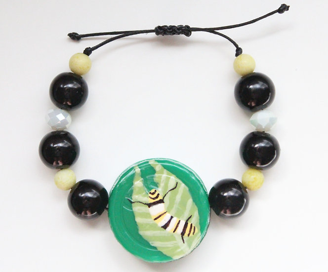 Monarch Caterpillar Bracelet I