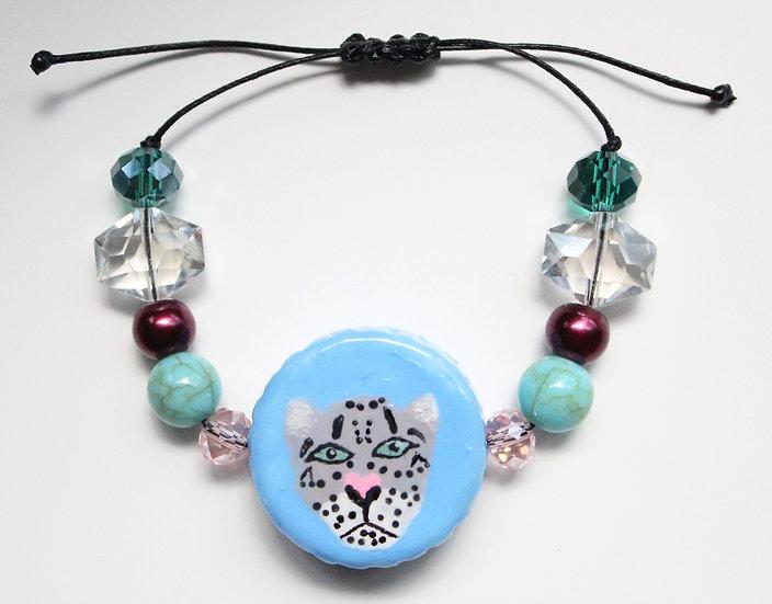 Snow Leopard Bracelet I