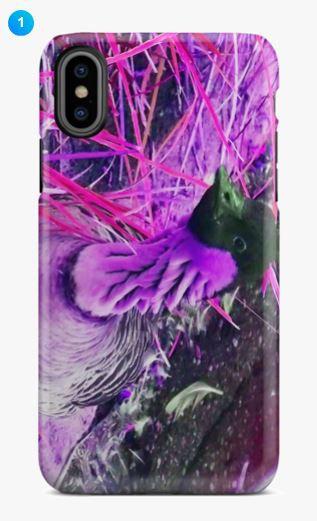 Hawaiian Goose Apple Phone Case (9 Colors)