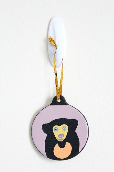 Sun Bear Ornament (Porcelain)