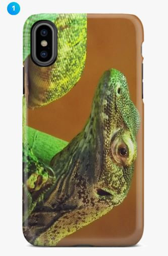 Komodo Dragon Apple Phone Case (Original + 8 Colors)