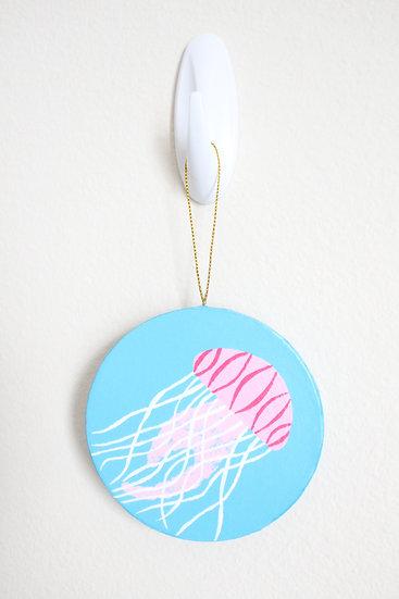 Jellyfish Ornament (Paper Mache)