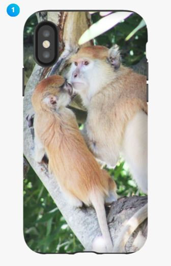 Patas Monkey Apple Phone Case (Original)