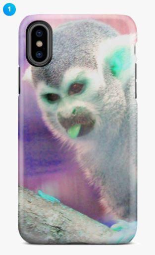 Squirrel Monkey Apple Phone Case (6 Colors)