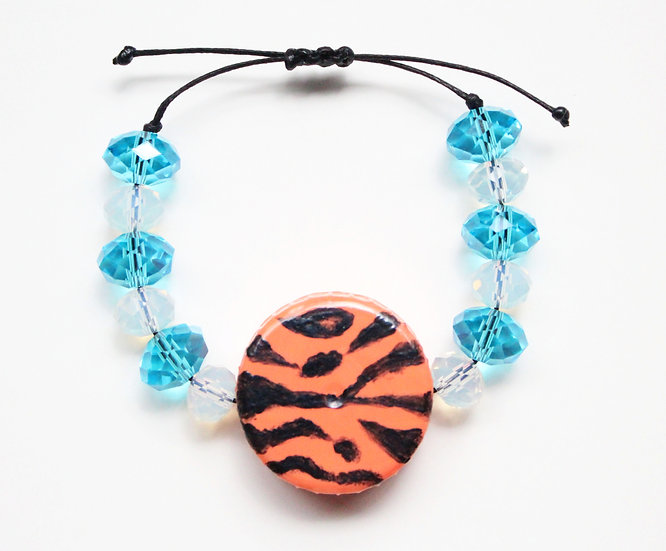 Tiger Print Bracelet IV