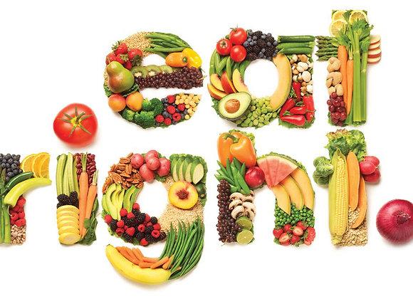4 Week Nutrition Plan