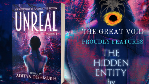 """UNREAL Anthology goes on sale featuring """"The Hidden Entity"""""""