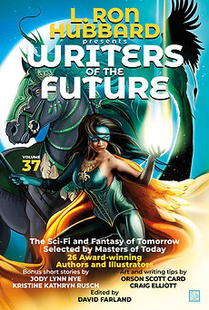 Writers of the Future Volume 37 Front Cover Image