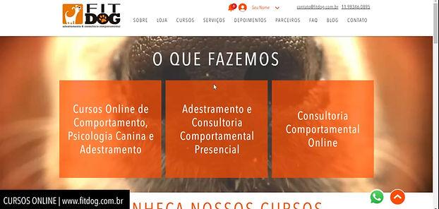 Cursos online FitDog