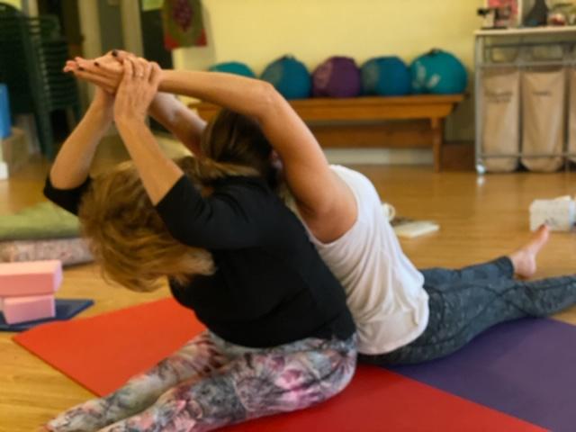 Partner Yoga Healing