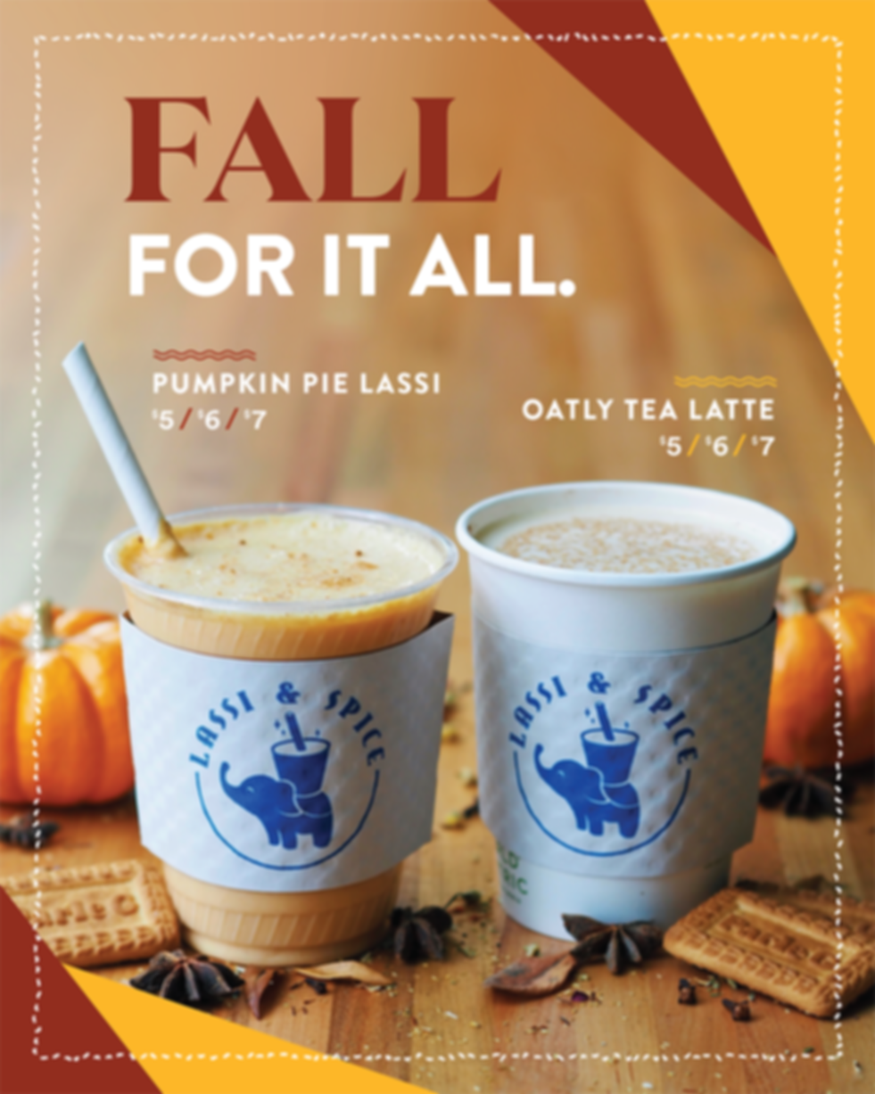 Fall for it All at Lassi & Spice