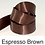 Thumbnail: Black & Brown Ribbons - 10mm - Personalised - Satin Double-Faced