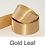Thumbnail: Gold & Silver Ribbons - 25mm - Personalised - Satin Double-Faced