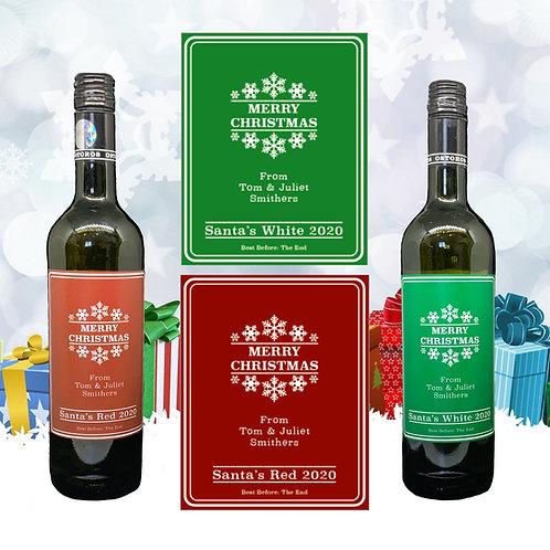 Wine Labels - Personalised - Self-Adhesive