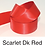Thumbnail: Red Ribbons - 25mm - Personalised - Satin Double-Faced
