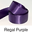 Thumbnail: Mauve & Purple Ribbons - 25mm - Personalised - Satin Double-Faced