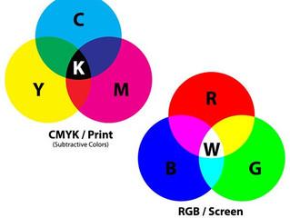 Colour Printing: CMYK v RGB