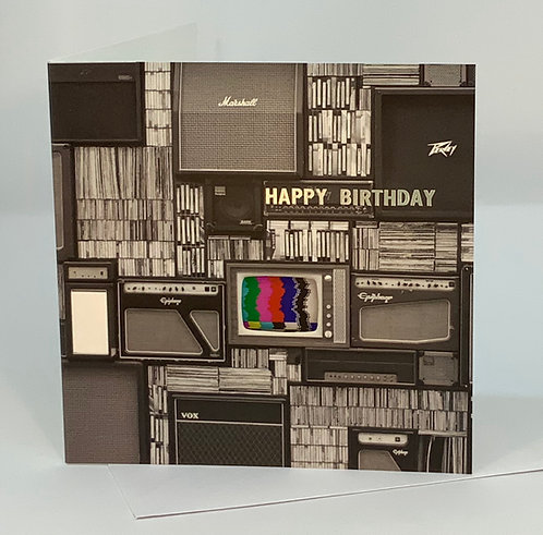 Birthday Card - Music Lover - ColourSplash Collection