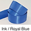 Thumbnail: Blue Ribbons - 15mm - Personalised - Satin Double-Faced
