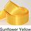 Thumbnail: Yellow, Peach & Orange Ribbons - 25mm - Personalised - Satin Double-Faced