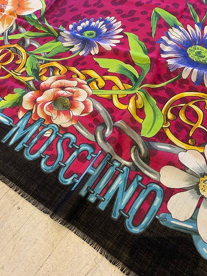 Foulard FLOWERS MOSCHINO