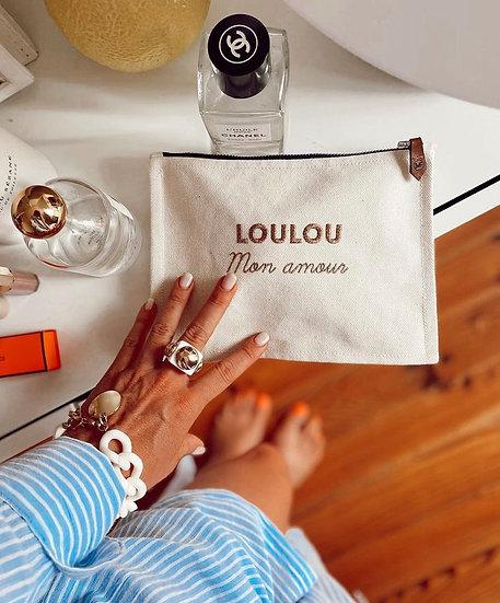 Pochette LOUISE Loulou Mademoisellefani