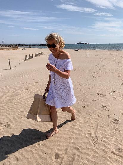 Robe Câline Blanc Suggest