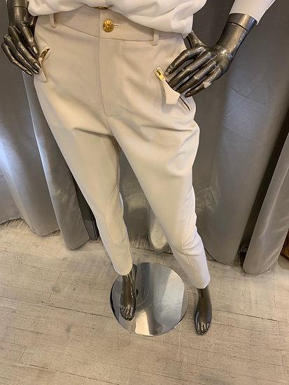 Pantalon Offwhite MOSCHINOboutique