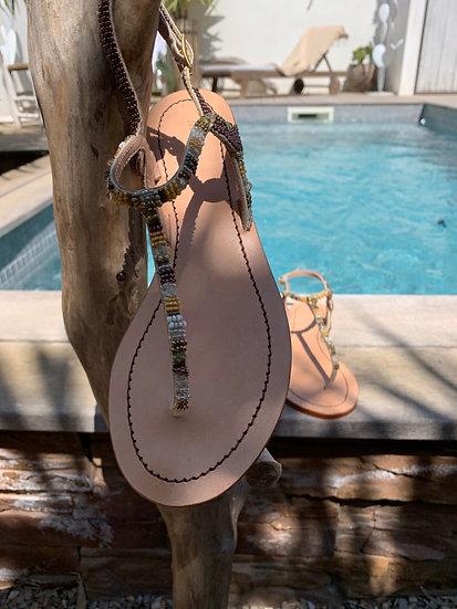 Sandale STRIPES MALIPARMI