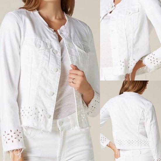 Denim Jacket white 7FAM