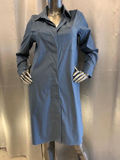 Robe chemise Océan REPEAT cashmere