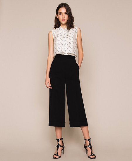Pantalon Noir TWINSET