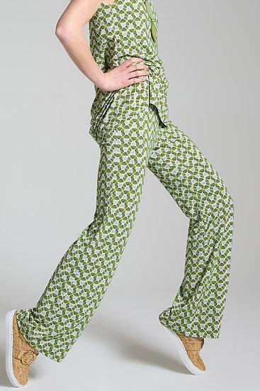 Pantalon HAPPY vert MALIPARMI