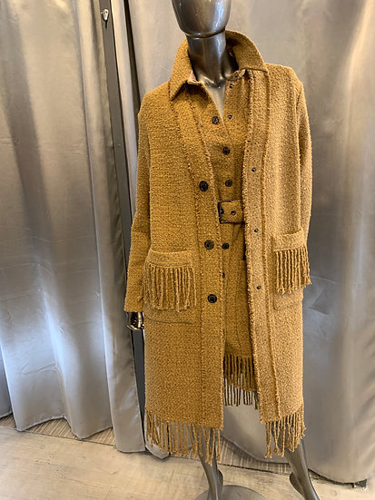 Manteau ANCASTI en tweed PINKO